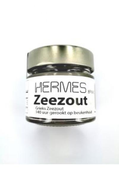 Hermes Zeezout gerookt op beukenhout 150 gram.