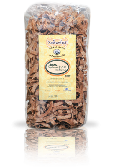 Papardelle volkoren pasta (buffelmelk) 400 gram.