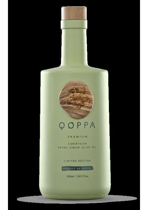 Qoppa Griekse olijfolie Limited edition 500ml. koroneiki olijf