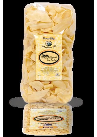 Papardelle pasta (buffel melk) 400 gram.