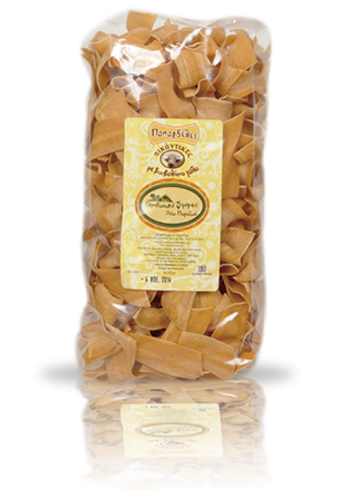 Papardelle pasta, pikant (buffelmelk) 400 gram.  Buffelpasta gezond en lekker.