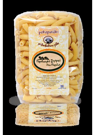 Penne (macaroni) pasta (buffelmelk) 400 gram.